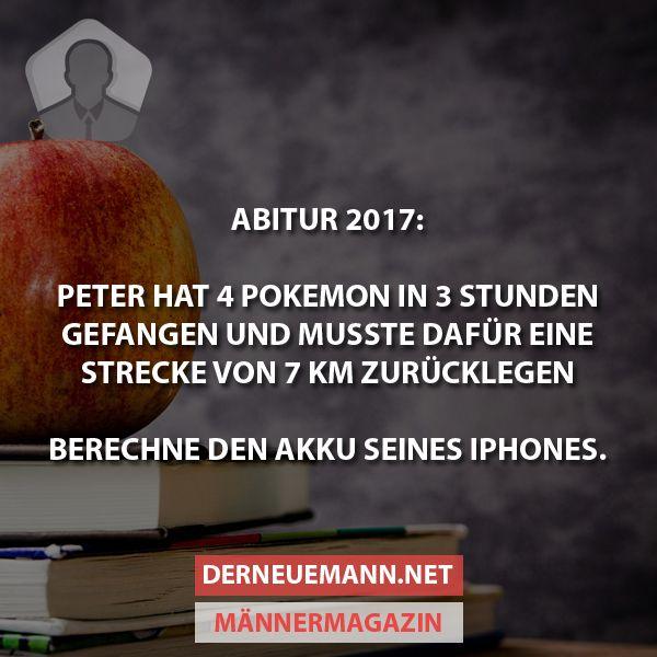 Abitur 2017 #derneuemann #humor #lustig #spaß #abi