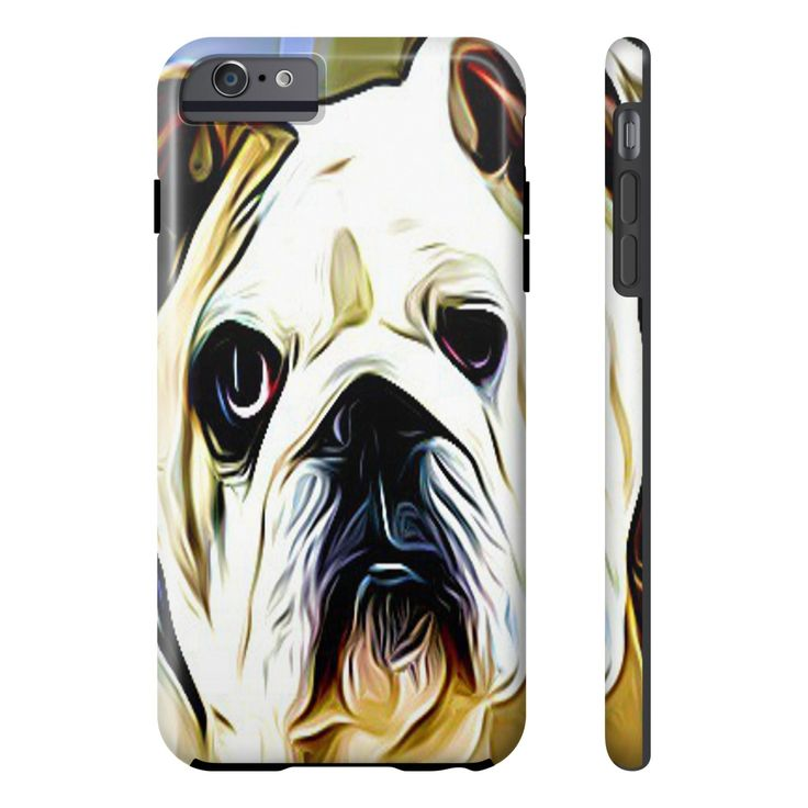 Bulldog IPhone - Samsung Galaxy Phone Cases - 17 Sizes Available