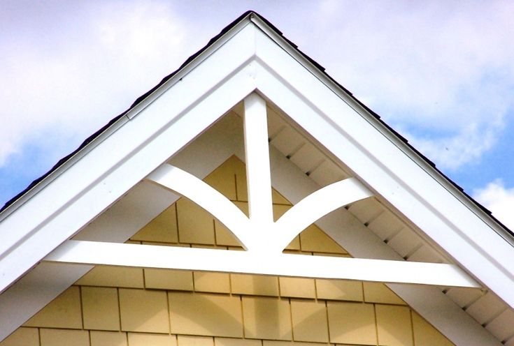 16 best images about decorative gable trim on pinterest traditional triangles and colonial for Exterior decorative trim for homes