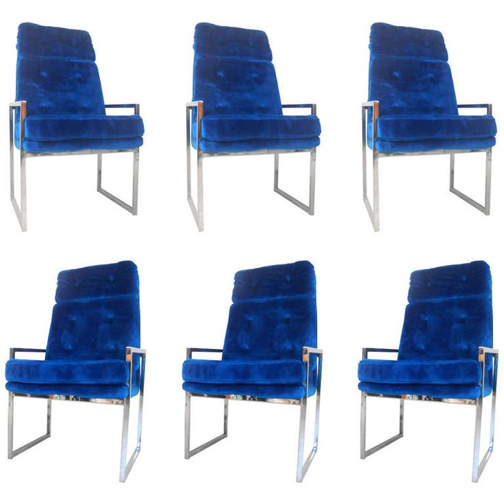 Impressive Chrome Dining Chairs With High Back Mid