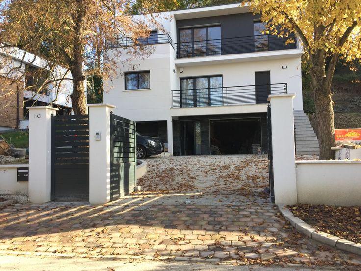 1000 id es sur le th me maison toit plat sur pinterest toit plat plan maison et maisons. Black Bedroom Furniture Sets. Home Design Ideas