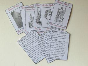 Cartes sur la mythologie grecque