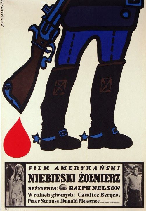 Soldier Blue Polish film poster
