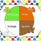Freebie! This activity is great for shape recognition and shape names for Preschool and Kindergarten. This activity is part of a larger Brown Bear Math Unit...
