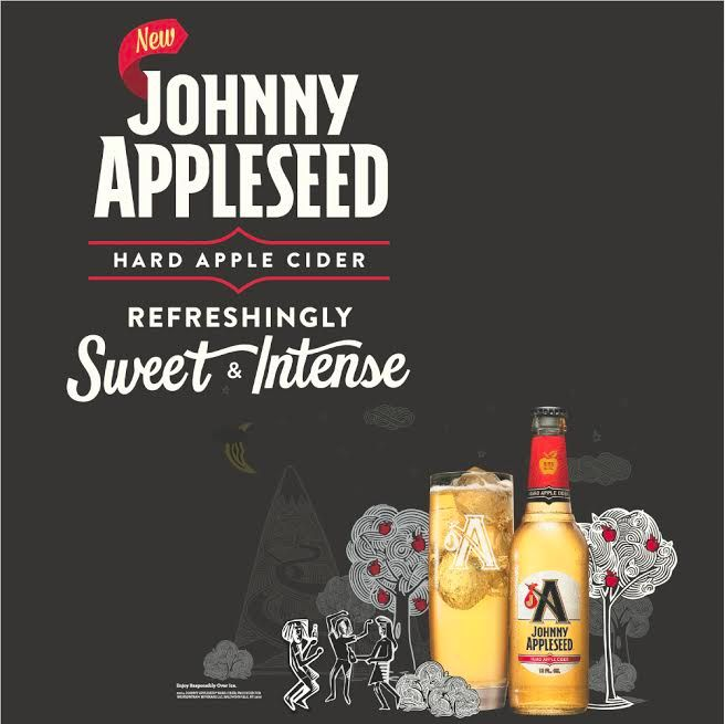 This NEW Anheuser-Busch Cider, Johnny Appleseed, is launching April 7th!! We can't wait to try it-- Can you? #LexHopHeads #JohnnyAppleseed