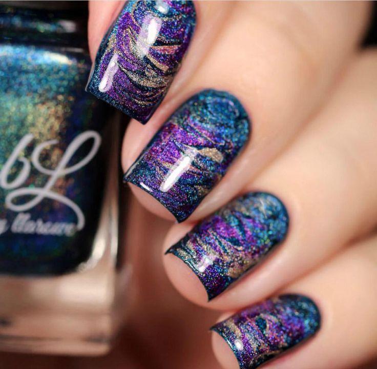 Top 25+ best Swirl nail art ideas on Pinterest | Pretty nail ...
