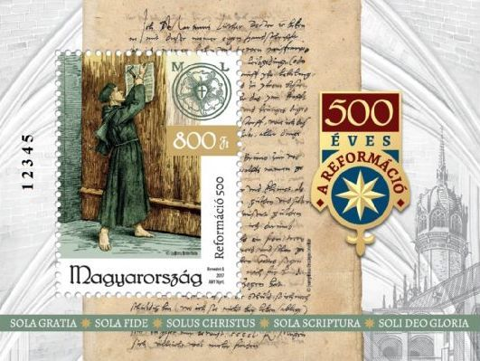 2017, 500th Anniversary of the Reformation, Souvenir Sheet