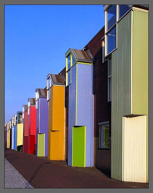 Colorful - Almere Stad, The Netherlands; photo by Geert ... Colorful Almere