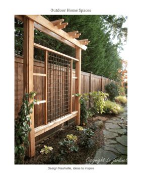 25 best ideas about asian fencing and gates on pinterest for Craftsman style trellis