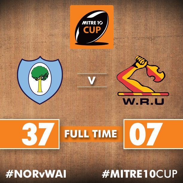 What a performance by Northland Rugby Union! They have completely outplayed Waikato Rugby to pick up a bonus point win in Whangarei. 9th Sept. 2017