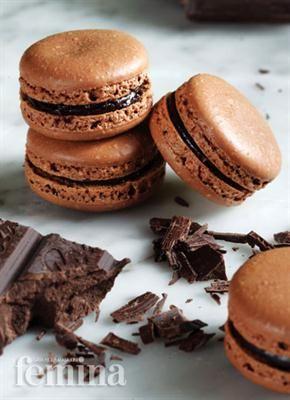 Macarons Chocolat Femina