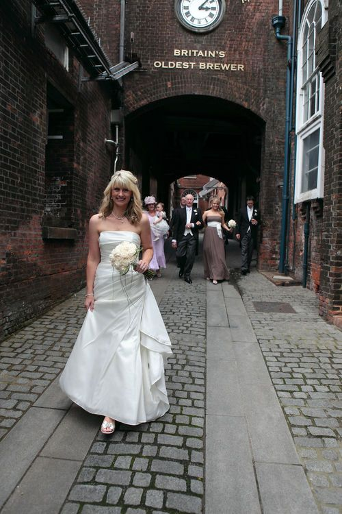 Weddings at Britain's oldest brewery