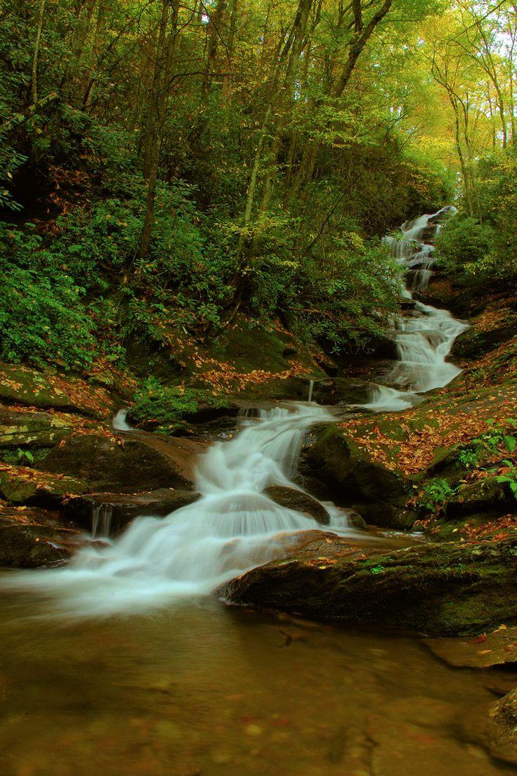 Pisgah national forest sliding rock