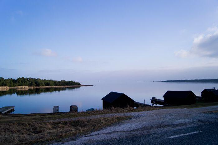 Lergrav Gotland, Sweden.