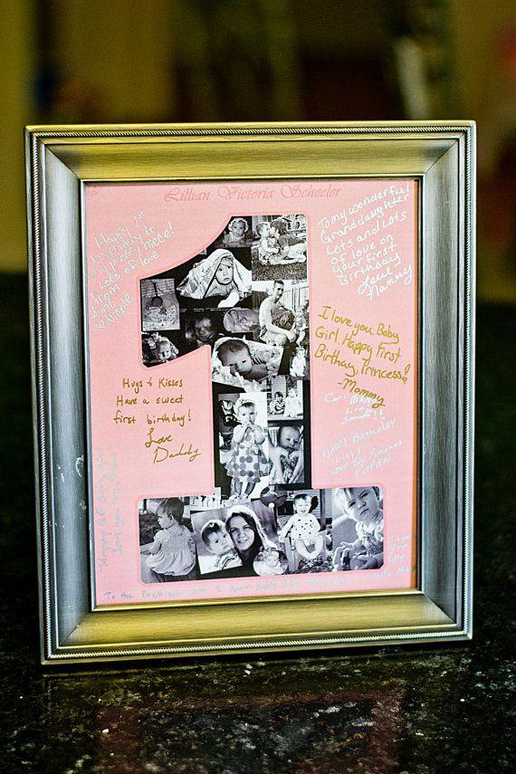 Foto autógrafo personalizado cumpleaños por ScheelerDesigns en Etsy