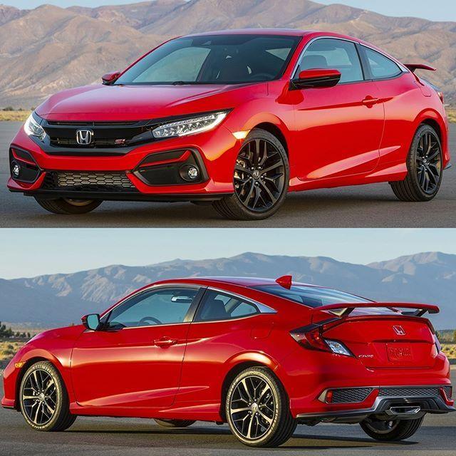 Honda Civic Si Coupe 2020 Marca Japonesa Apresenta Nos Estados Unidos A Linha 2020 Do Civic Si Que La E Vendido Nas Carroc Honda Civic Si Honda Civic Train Car