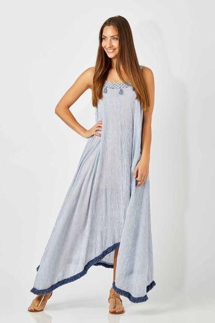Ruby Yaya Stripe Maxi Dress - Womens Knee Length Dresses - Birdsnest Online Fashion Store