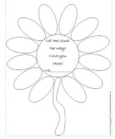 A Free Mother's Day Activity  -  Pinned by @PediaStaff – Please Visit http://ht.ly/63sNt for all our pediatric therapy pins