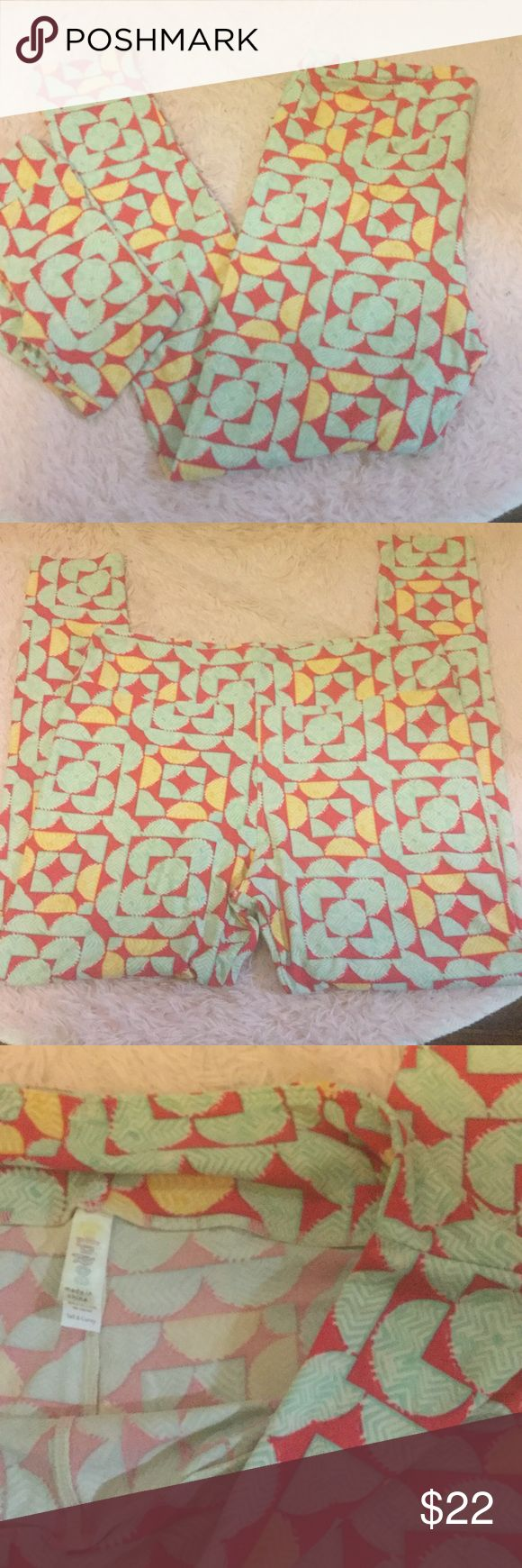 BNWOT LuLaRoe leggings. Possible mommy and me Leggings are listed separately in case someone wants individual, but will make a great mommy and me set! Tall and curvy BNWOT LuLaRoe leggings. Bundle with kids for discount/offer on mommy and me. LuLaRoe Pants Leggings