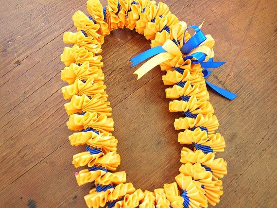 10 Best Ribbon Lei Images On Pinterest Grinding Hawaiian Leis And
