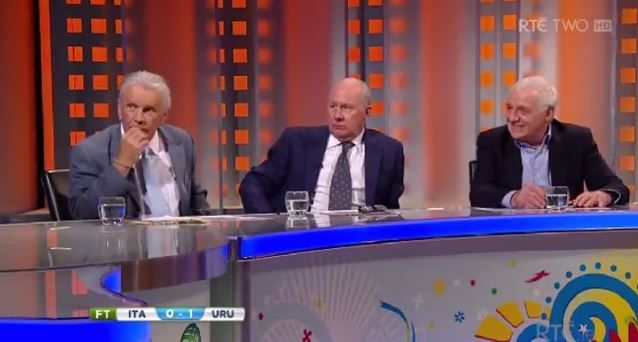 The RTÉ Panel Analysis Of The Luis Suarez Biting Incident