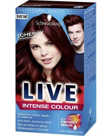 Schwarzkopf Live Intense Colour 048 Cherry Mahogany Hair Dye
