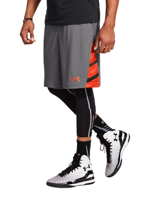 mens athletic style shorts with tights