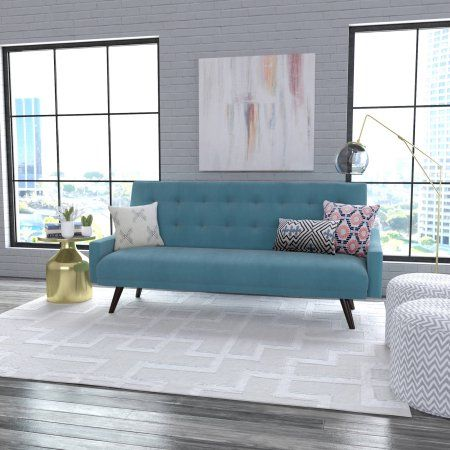 Oakland Click Clack Futon Sofa Bed, Multiple Colors