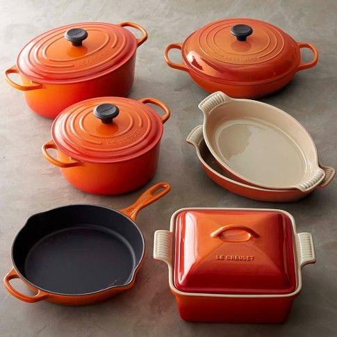 Le Creuset Cast Iron & Stoneware 11-Piece Cookware Set ...