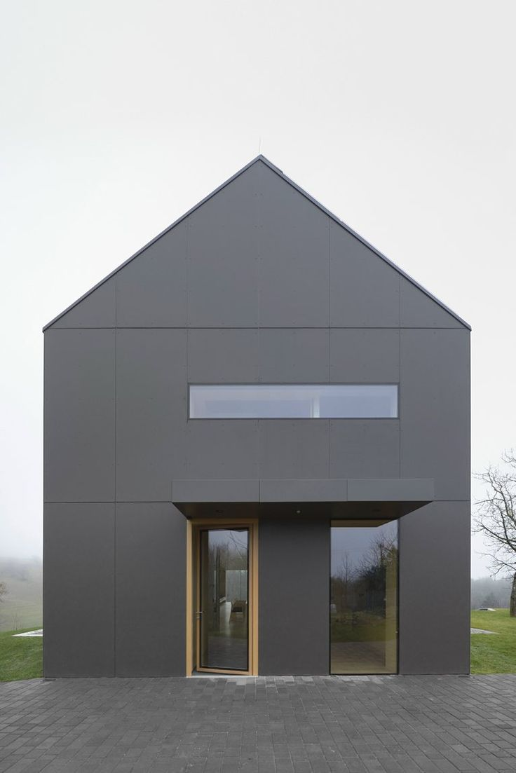 25 beste idee n over graue fassade op pinterest. Black Bedroom Furniture Sets. Home Design Ideas