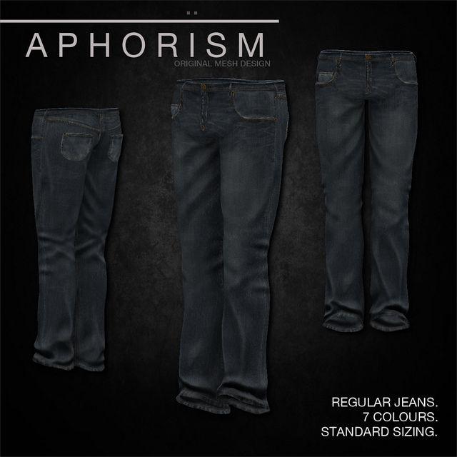 !APHORISM! Regular Jeans Light Blue | Flickr - Photo Sharing!