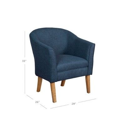 Best Tub Chair Navy Homepop Blue Accent Chairs For Living 400 x 300