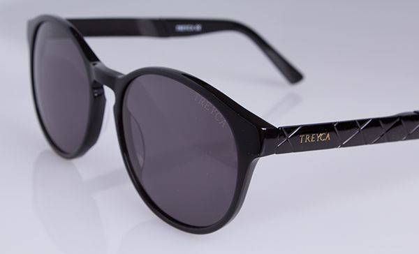 Treyca Panto Black Sunglasses. #Treyca #Sunglasses