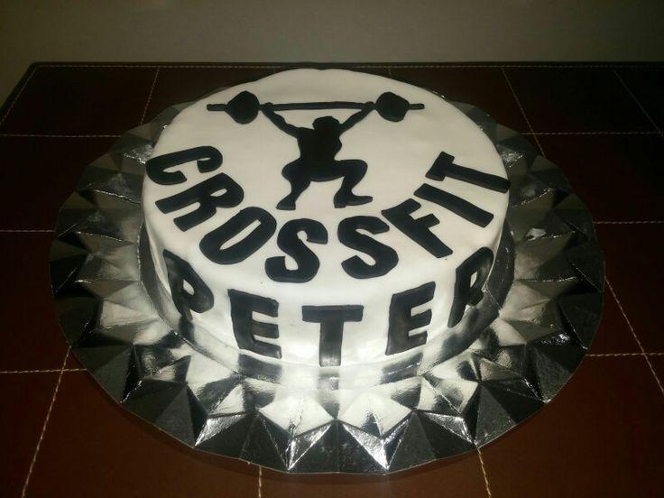 Tarta para el cumpleaños de un deportista!!