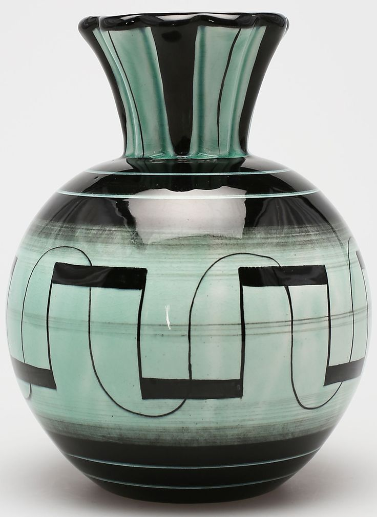 "Art Deco, serie ""V"", Ilse Claesson, Rörstrand"