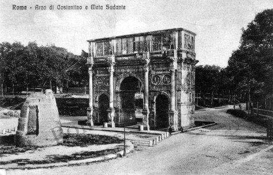 ARCO DI COSTANTINO  ante 1925
