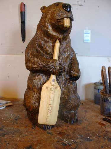 Unique chainsaw carvings ideas on pinterest wood