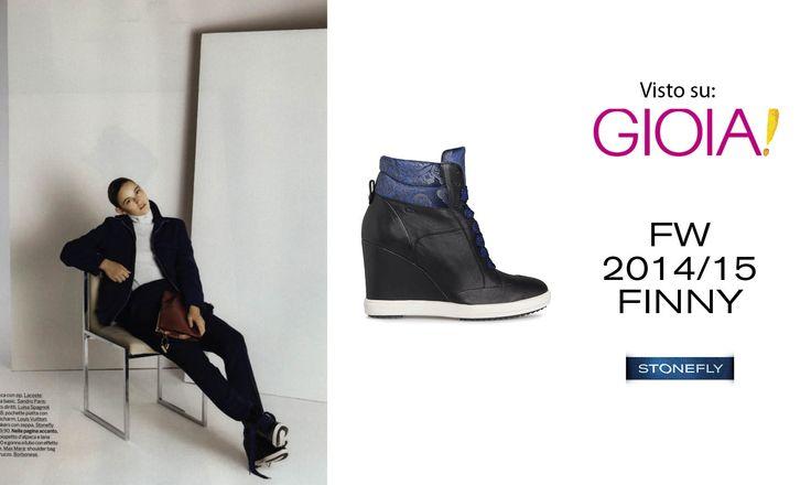 #Sneaker con #zeppa Finny su GIOIA!