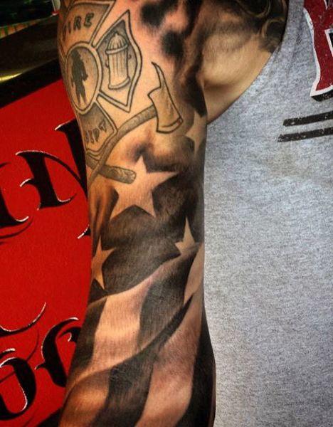 sleeve-firefighter-flag-tattoo-for-men.jpg (468×600)