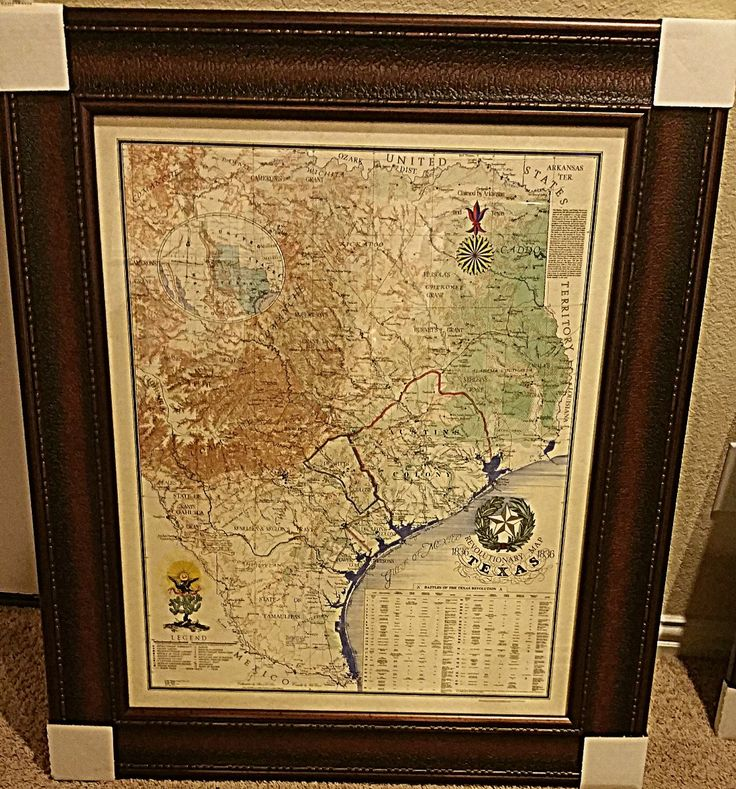 Texas Revolutionary Map 19 best Products images