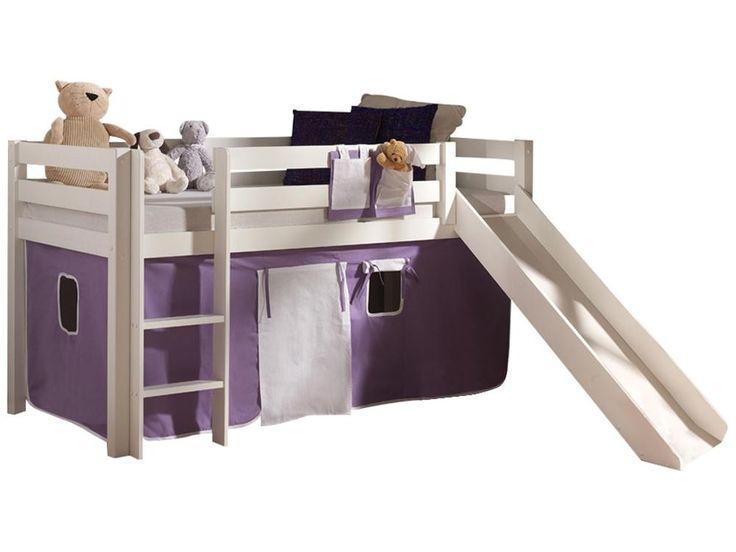 Les 25 meilleures id es concernant le tableau lit mi hauteur sur pinterest doubles lits en - Tente pour lit mi hauteur ...