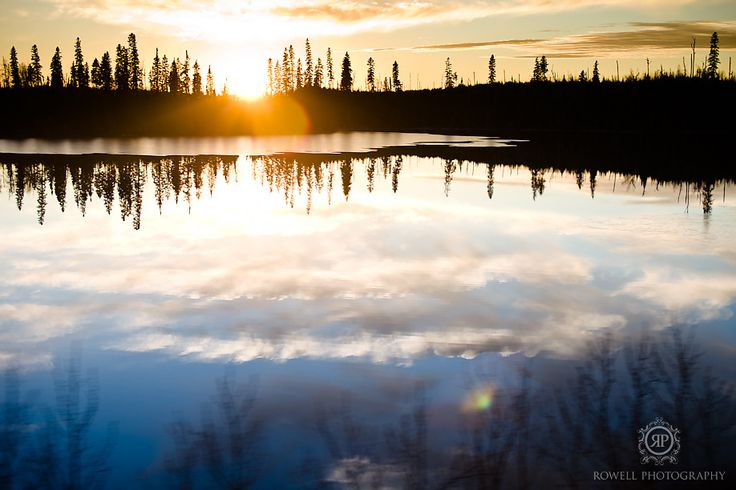 Northern Ontario VIA Rail Canada Travel photos by: Rowell Photography @VIARail Canada