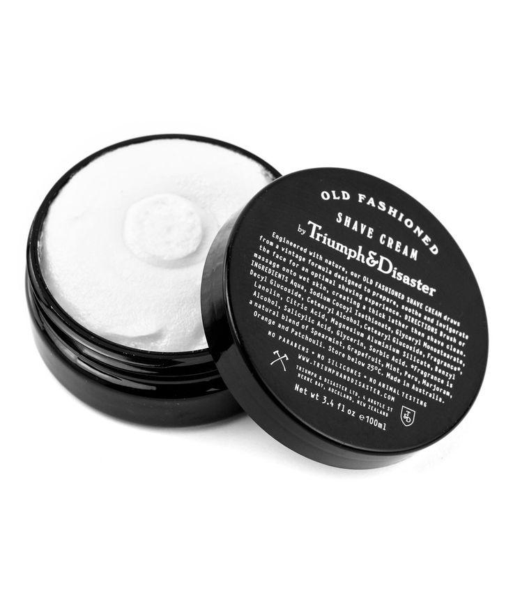 Old Fashioned Shave Cream Jar. | http://www.huntingforgeorge.com