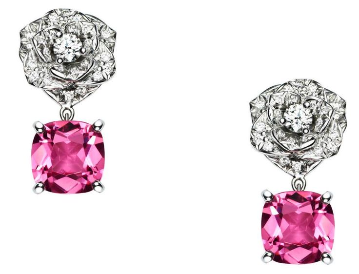 Piaget Rose Collection - the perfect match between diamonds & pink tourmaline!