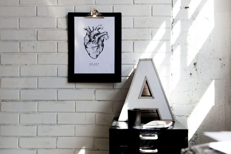 Heart | poster    Anatomical heart