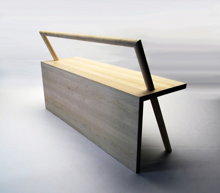 Really Simple Bench Design   But Is Really Eye Catching.