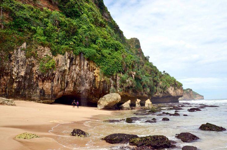 Seruni beach Wonosari