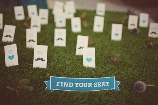 Zoek je zitplaats op de bruiloft: geweldige ideeën voor de plattegrond van het plaatsen van gasten. Image: 0