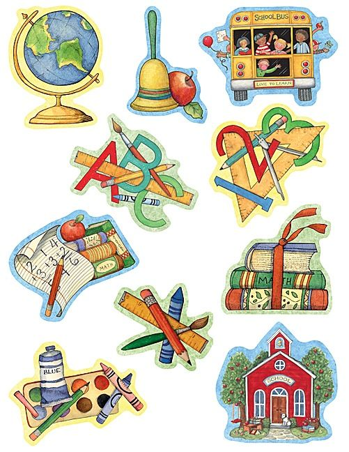 School Time Accents from Susan Winget