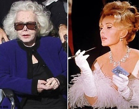 Zsa Zsa    :(. She was exquisite!